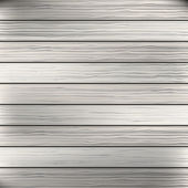 Wood plank white, grey texture background. Vector — Stock Vector