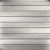 Ahşap tahta beyaz, gri doku arka plan. vektör — Stok Vektör