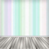 Empty room, interior with wallpaper. High resolution texture bac — Stock Photo