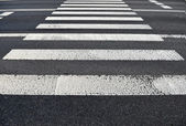 Pedestrian crossing. Transportation background texture — Stock Photo