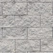 Gray brick wall, pavement stone Block Texture — Stock Photo