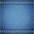 Jeans background. Vector texture. Fabric textile design. — Stockvector  #30352475