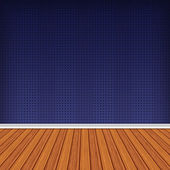 Empty room, interior with wallpaper. High resolution texture bac — Foto Stock