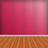 Empty room, interior with wallpaper. High resolution texture bac — Stockfoto