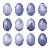 Easter eggs set — Stock Photo