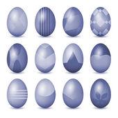 Easter eggs set — Stock Photo
