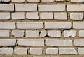 Whie brick wall texture background. Square format. — Foto Stock