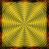 Yellow grunge background. Abstract vintage texture with fra — Stock Photo