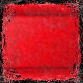 Red grunge background. Abstract vintage texture with fra — Stock Photo