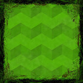 Green grunge background. Abstract vintage texture with fra — Zdjęcie stockowe