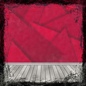 красный гранж-фон. абстрактный винтаж текстуры с рамой и b — Стоковое фото
