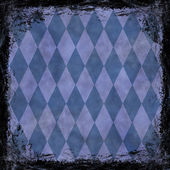 Blue grunge background. Abstract vintage texture with frame and  — Stock Photo