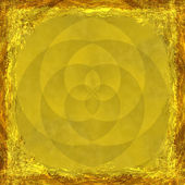 Yellow, Gold, grunge background. Abstract vintage texture with f — Zdjęcie stockowe