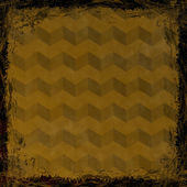 茶色、ゴールド グランジ背景。fra の抽象的なビンテージ テクスチャ — ストック写真