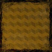 Brun, guld grunge bakgrund. abstrakt vintage textur med fra — Stockfoto
