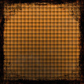 Orange grunge background. Abstract vintage texture with frame an — Zdjęcie stockowe