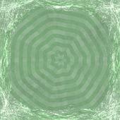 Fondo verde grunge. resumen textura vintage con marco y — Foto de Stock