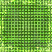 Fundo verde grunge. abstrato vintage textura com moldura e — Fotografia Stock