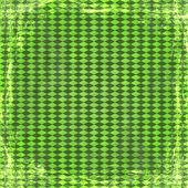 Groene grunge achtergrond. abstract vintage textuur met frame en — Stockfoto