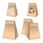 Paper bag — Stock vektor