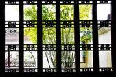 中国江南园林窗 China's Jiangnan garden window — Foto de Stock