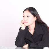 An oriental woman in a trance — Stock Photo