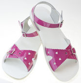 Pink sandals — Stock Photo