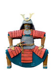 Statue of chinese warrior. — Stock Photo