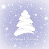 Merry Christmas greeting card. — Stock Vector