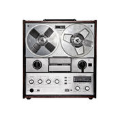 Retro audio tape recorder. — Stock Photo