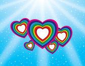 Valentine's day background. — Stock Vector