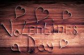 Valentine's day background. — Stock Photo