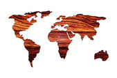 World map. Abstract illustration. — Stock Photo