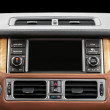 Panel of a modern car. Screen multimedia system. — Stock Photo #47249883