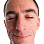 Caucasian Male Headshot — Stock Photo