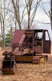 Old Time Heavy Equipment Coal Mining Shovel — Stock Photo