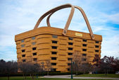 Basket Shaped Longaberger Company Home Office Building — Stock Photo