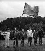 Team USSR, 1978 Motocross World Championship 1978 in Leningrad. — Stock Photo