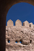 Wall of Itchan Kala, inner town of Khiva, Uzbekistan — Stock Photo