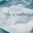 We are stylish! Concept for stylish life, important role of style in fashion industry. — Stock Photo