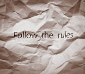 Concept for breaking the rules, revolution, releasing from slavery, protest, freedom or breaking business rules, unusual business strategies. — Stock Photo