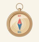 Sättet att köpa — Stockvektor