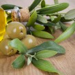 Stockfoto: Olives oil