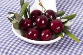 Cherries isolated — Stock Photo