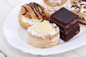 Gâteaux isolé — Photo