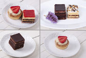 : Assorted cakes composition — Stock fotografie