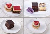 : Assorted cakes composition — ストック写真
