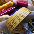 Stock Photo: Sewing threads