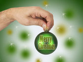 Christmas ball — Stock fotografie