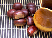 Dry fruit isolated — Stock Photo